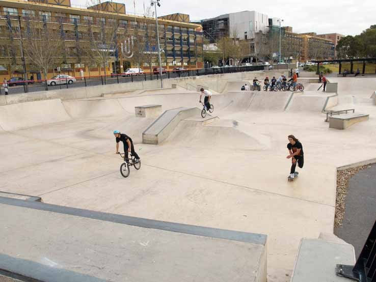 City Skate Park Surveying