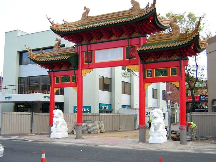 Chinatown Gateway Adelaide Surveying