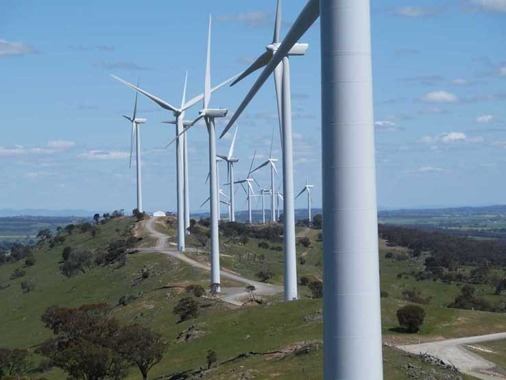 Waterloo Wind Farm Surveying